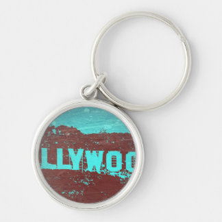 Hollywood sign Los Angeles Keychain