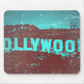 Hollywood sign Los Angeles Mousepad