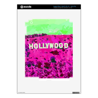 Hollywood Sign Los Angeles Skin For iPad 3