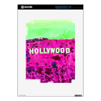 Hollywood Sign Los Angeles Skins For iPad 2