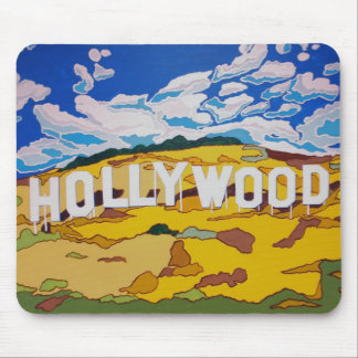 """""""Hollywood sign"""" mouse pad"""