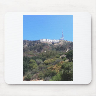 hollywood sign mousepads