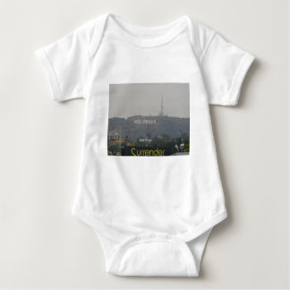 Hollywood Sign on the Hills Baby Bodysuit