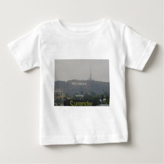 Hollywood Sign on the Hills Baby T-Shirt