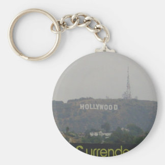 Hollywood Sign on the Hills Keychain