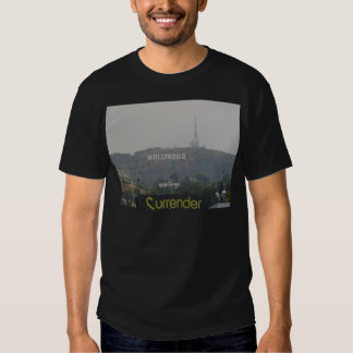 Hollywood Sign on the Hills T Shirt