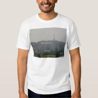 Hollywood Sign on the Hills Tee Shirt