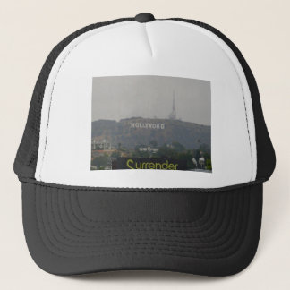 Hollywood Sign on the Hills Trucker Hat