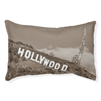 Hollywood Sign Pet Bed