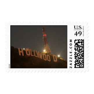 Hollywood SIgn Postage