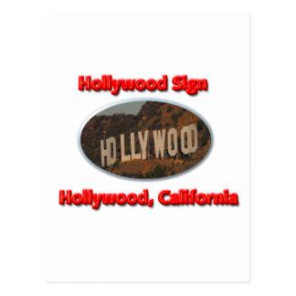 Hollywood Sign Postcard
