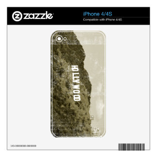Hollywood Sign Skin For The iPhone 4S