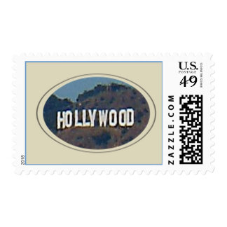 Hollywood Sign Stamp