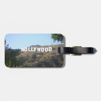 Hollywood Sign Tag For Luggage