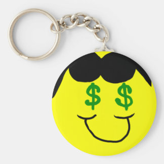 Hollywood Smiley Key Chain