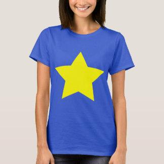 Hollywood star basic T. Shirt (purple)