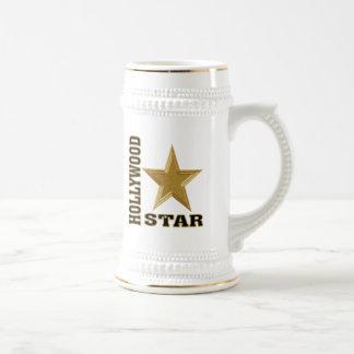 Hollywood Star Beer Stein