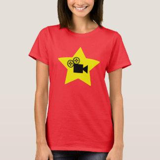 Hollywood star camera basic T Shirt