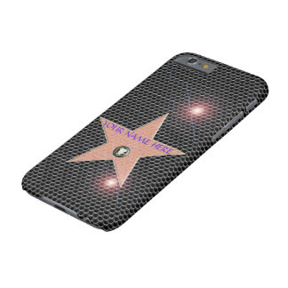 HOLLYWOOD STAR CELEBRITY iPhone 6 TEMPLATE CARBON Barely There iPhone 6 Case