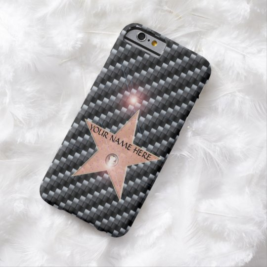 Hollywood Star Celebrity Iphone 6 Template Carbon Case Mate Iphone