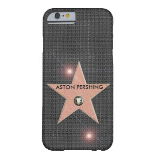 HOLLYWOOD STAR CELEBRITY POPULAR TEMPLATE CARBON BARELY THERE iPhone 6 CASE