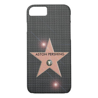 HOLLYWOOD STAR CELEBRITY POPULAR TEMPLATE CARBON iPhone 8/7 CASE