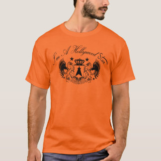 Hollywood Star crown winged lions T-Shirt