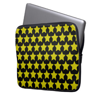 Hollywood star lapton 13´´sleeve (black & yellow) computer sleeve