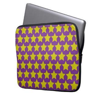Hollywood star lapton 13´´sleeve (purple) laptop sleeve