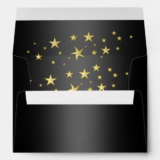 Hollywood Star Matching Envelopes
