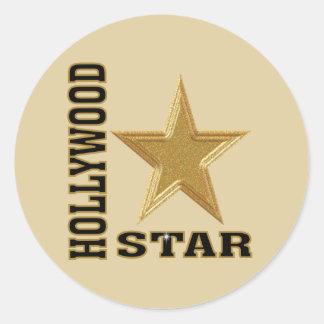 Hollywood Star Sticker