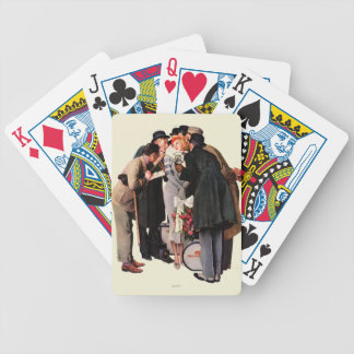 Hollywood Starlet Bicycle Playing Cards