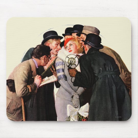 Hollywood Starlet Mouse Pad