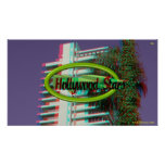 Hollywood Stars IN 3D Poster