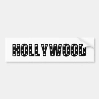 Hollywood Stars Sign Bumper Sticker