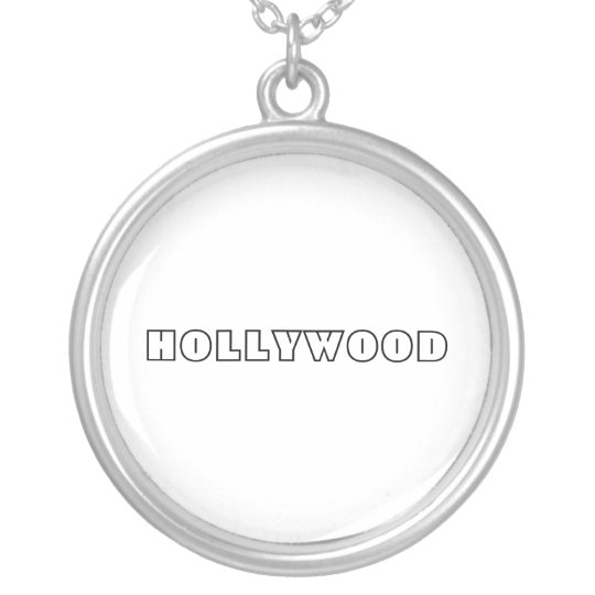 HOLLYWOOD STERLING SILVER NECKLACES ON SALE!