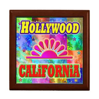 Hollywood Sun & Palms Giftbox Gift Box