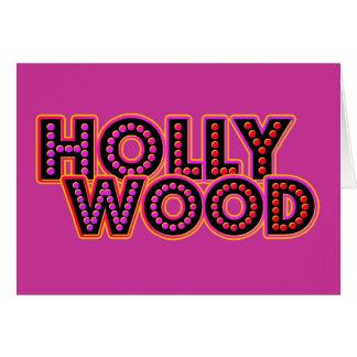 Hollywood Tarjeta De Felicitación