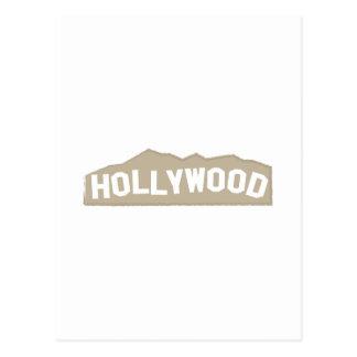 Hollywood Tarjeta Postal