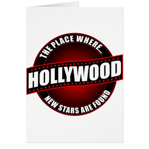 Hollywood - The Place Where... New Stars Are Found Cards