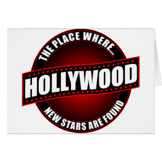 Hollywood - The Place Where... New Stars Are Found Card