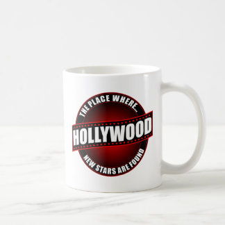 Hollywood - The Place Where... New Stars Are Found Classic White Coffee Mug