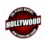 Hollywood - The Place Where... New Stars Are Found Postcards