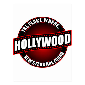 Hollywood - The Place Where... New Stars Are Found Postcard