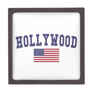 Hollywood US Flag Gift Box