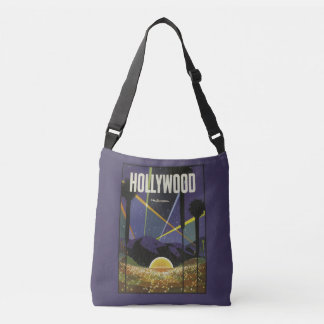Hollywood USA vintage travel bags