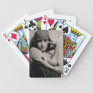 Hollywood Vintage Gloria Bicycle Playing Cards