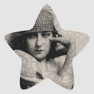 Hollywood Vintage Gloria Star Sticker