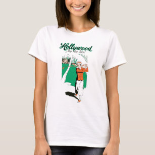 Hollywood Vintage Golf T Shirt