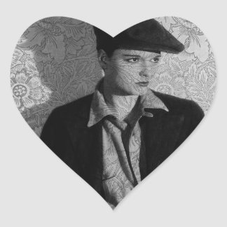 Hollywood Vintage Louise Heart Sticker
